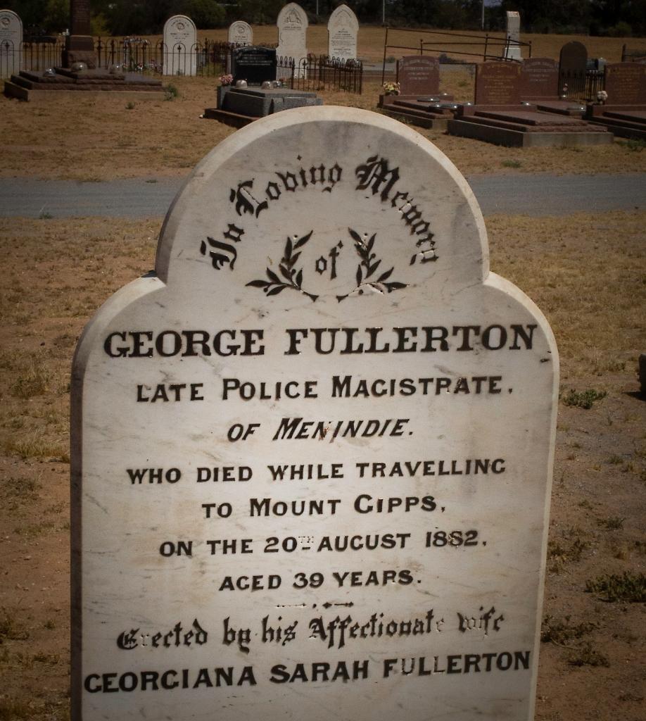 george fullerton gravestone georgiana sarah fullerton